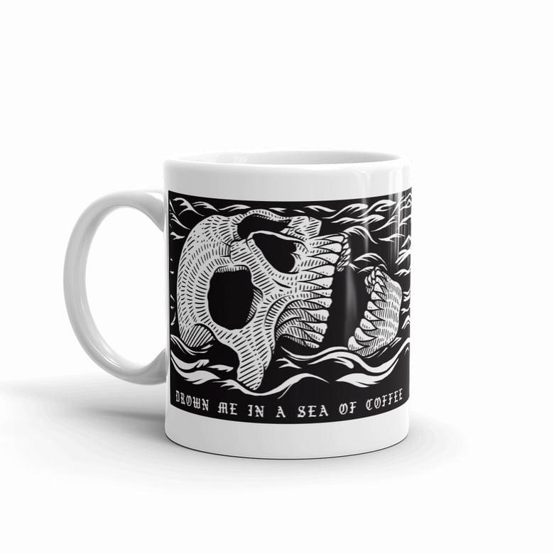Image of Drown me in a sea of coffe - Ceramic Mug