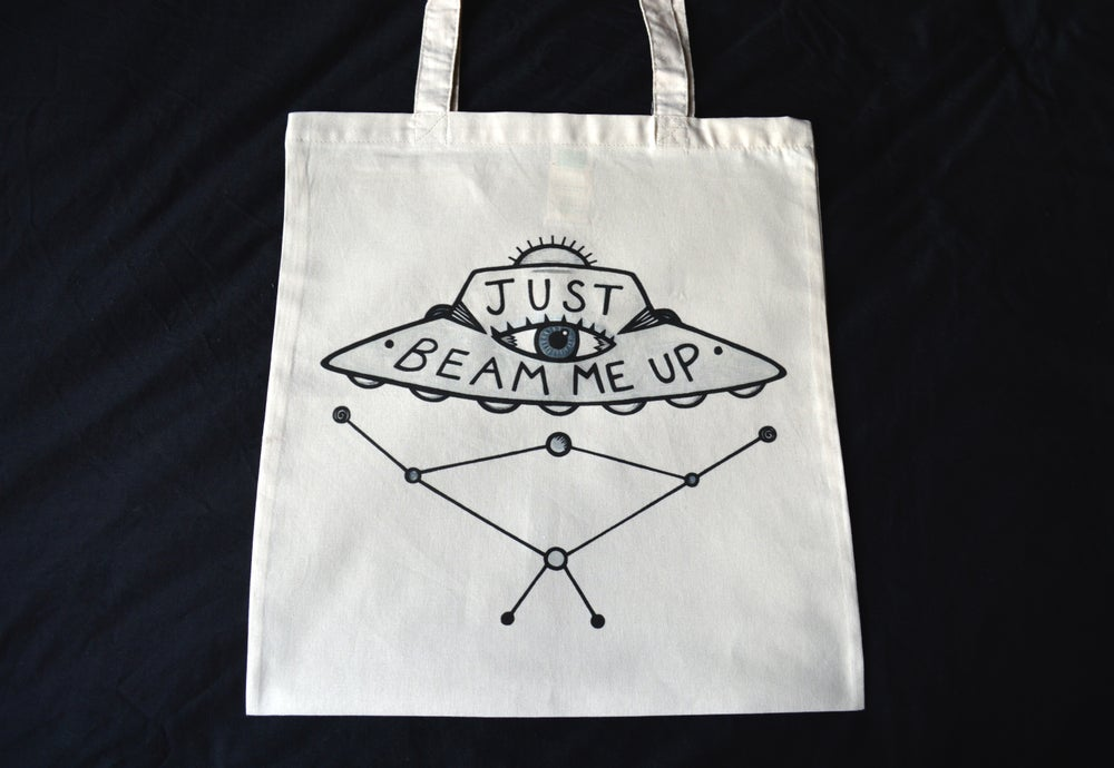 Image of Just Beam Me Up - Tote Bag