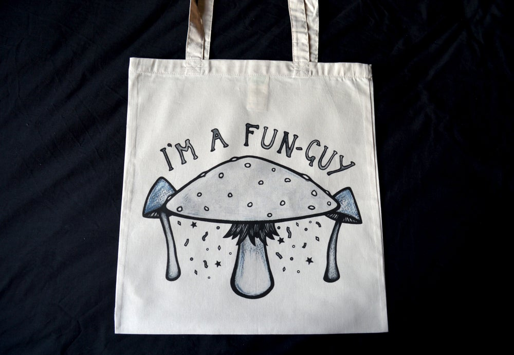 Image of I'm A Fun Guy - Tote Bag
