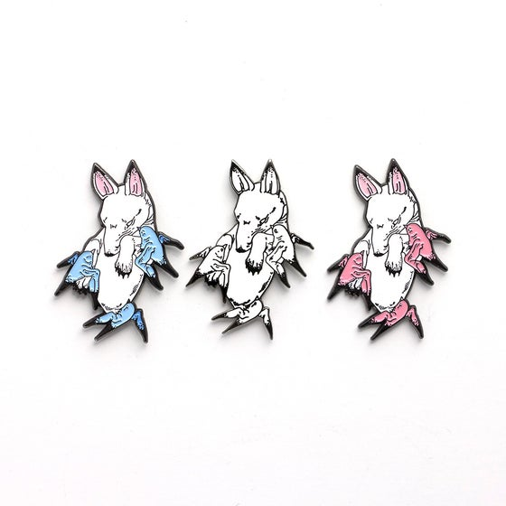 "Image of ""Flock"" Enamel Pins"
