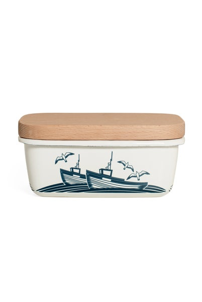 Image of Whitby Enamelware Butter Dish