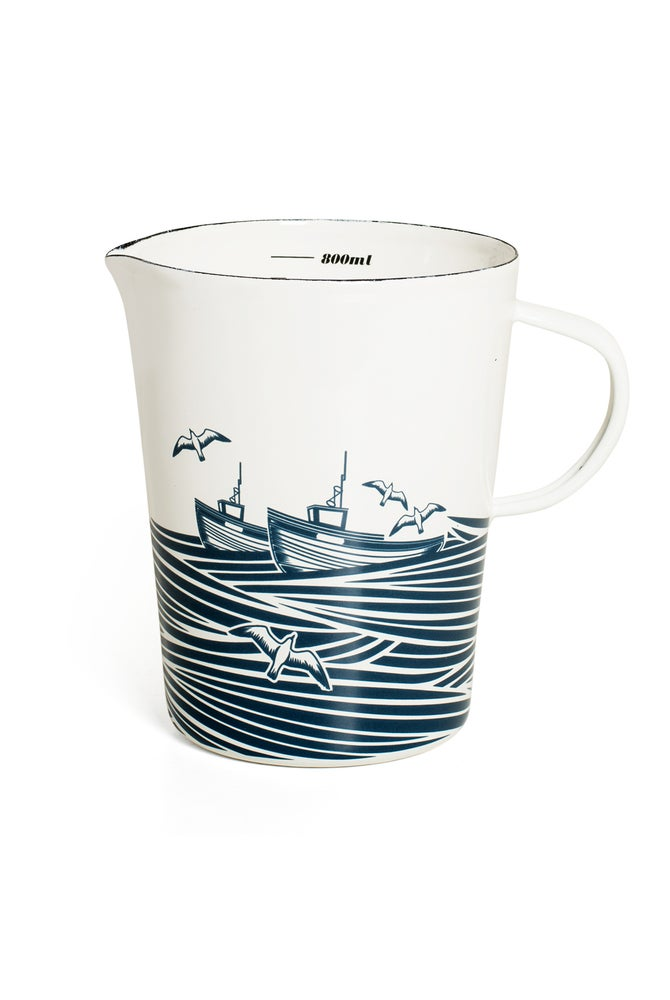 Image of Whitby Enamelware Measuring Jug