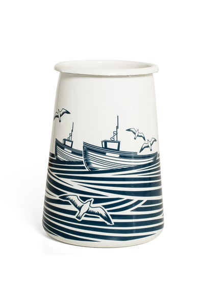 Image of Whitby Enamelware Utensils Pot