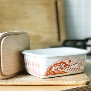 Image of Moordale Enamelware Butter Dish