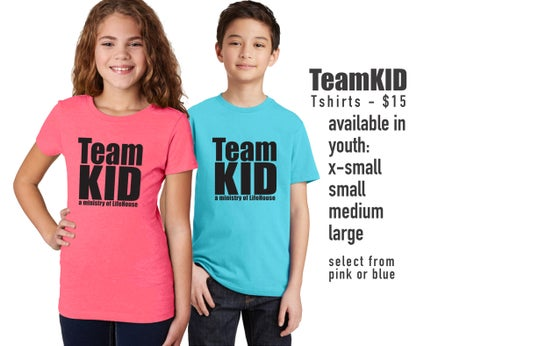 Image of TeamKID Neon T-shirt
