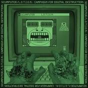 Image of L.O.T.I.O.N. / Scumputer split LP