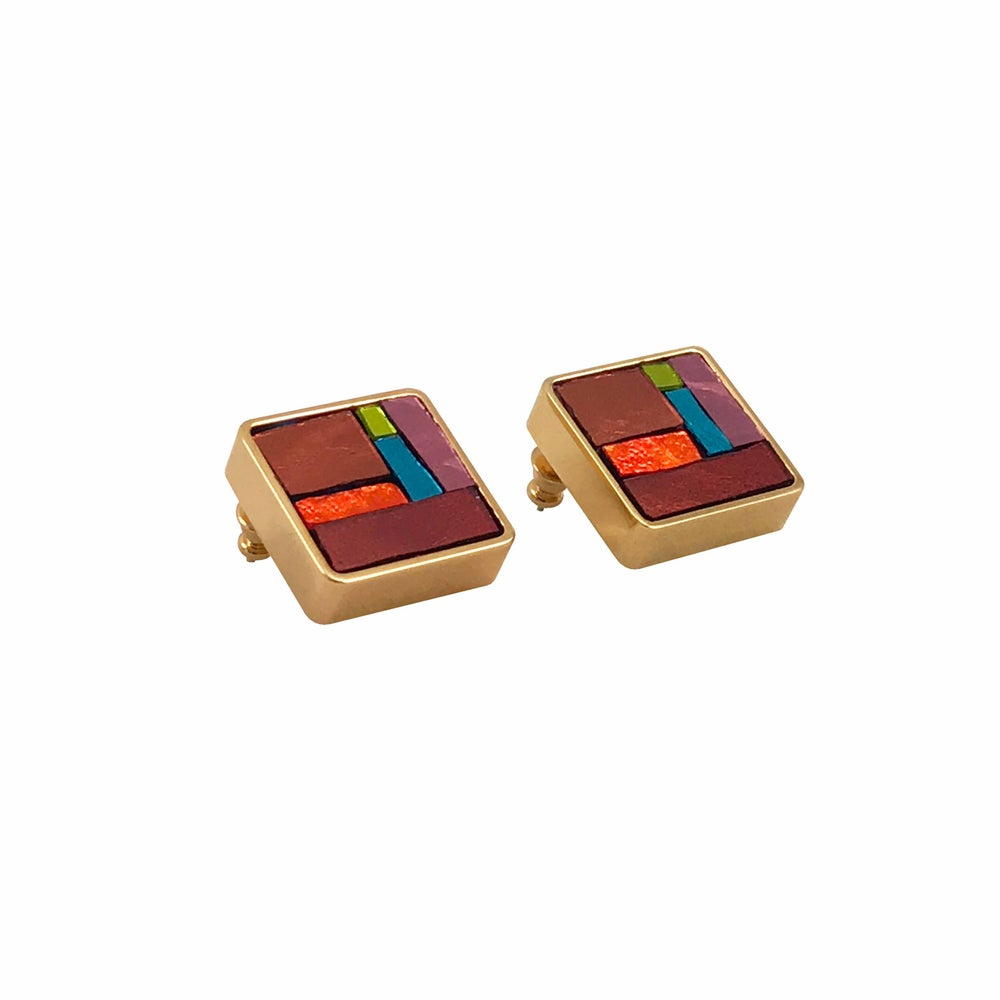 Image of Paul klee Earrings big