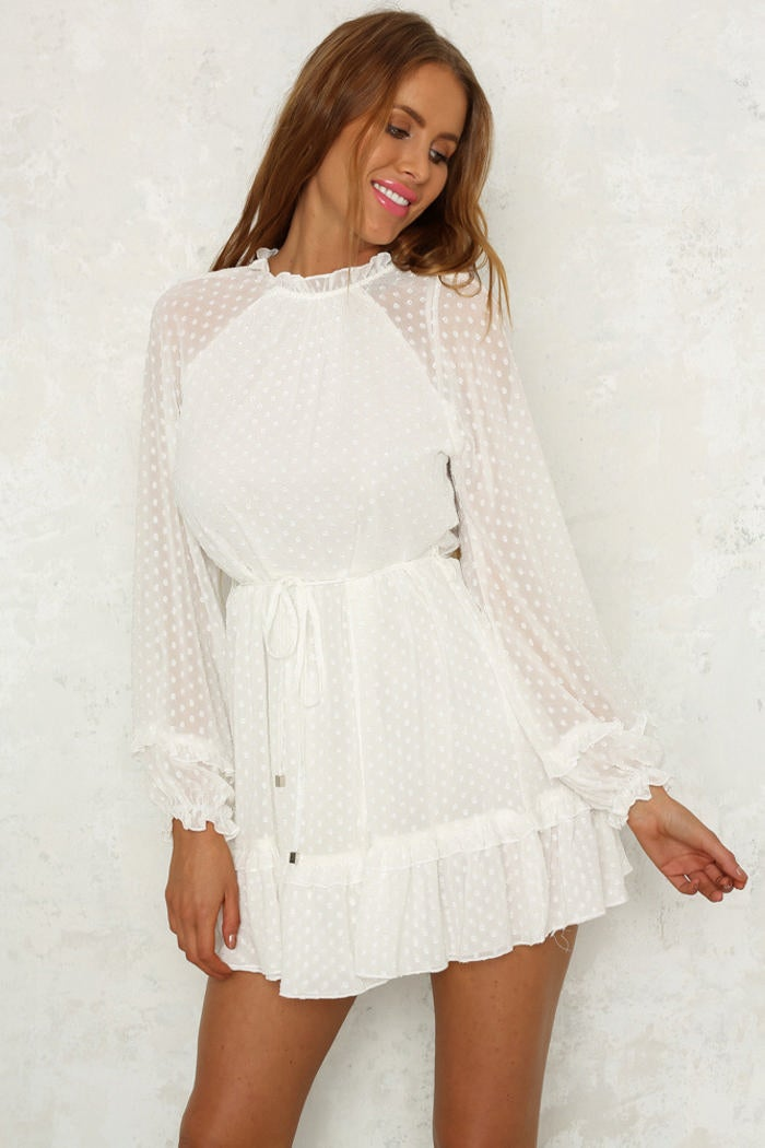 Image of Dani Dress White