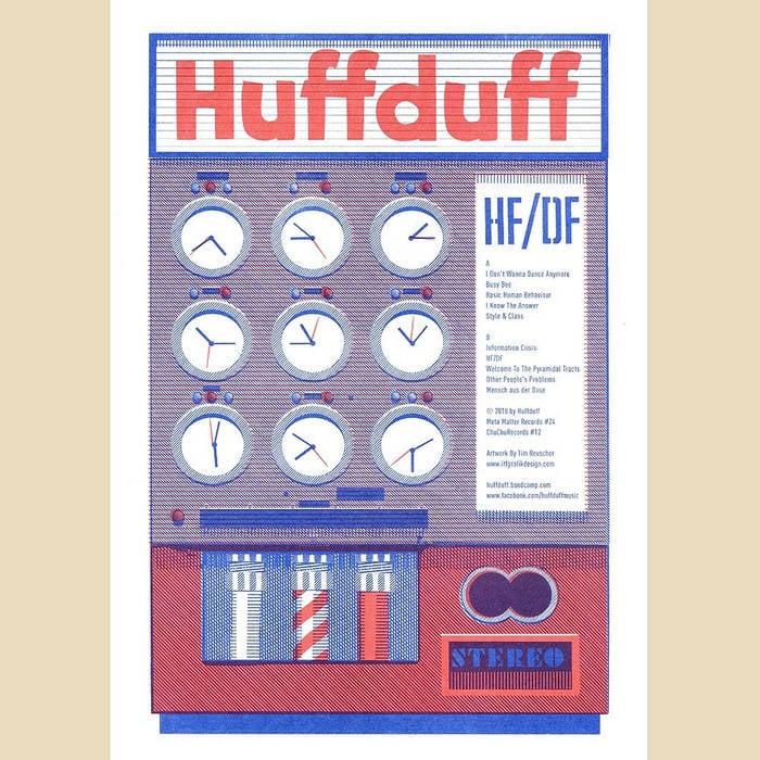 Image of HuffDuff - HuffDuff LP