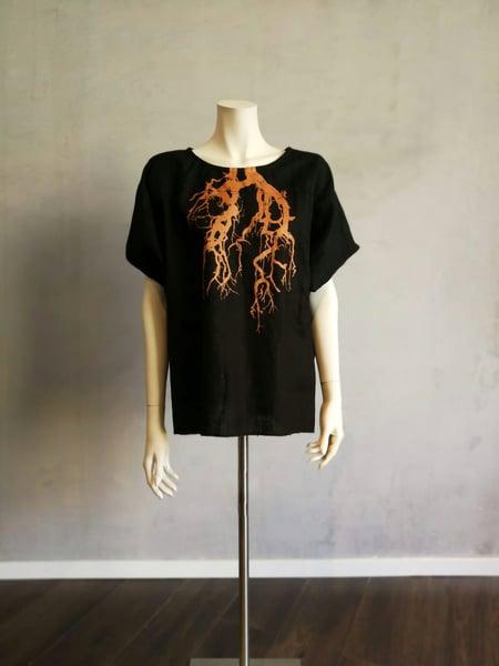"Image of Leinen Shirt ""Christeene Lunge"""