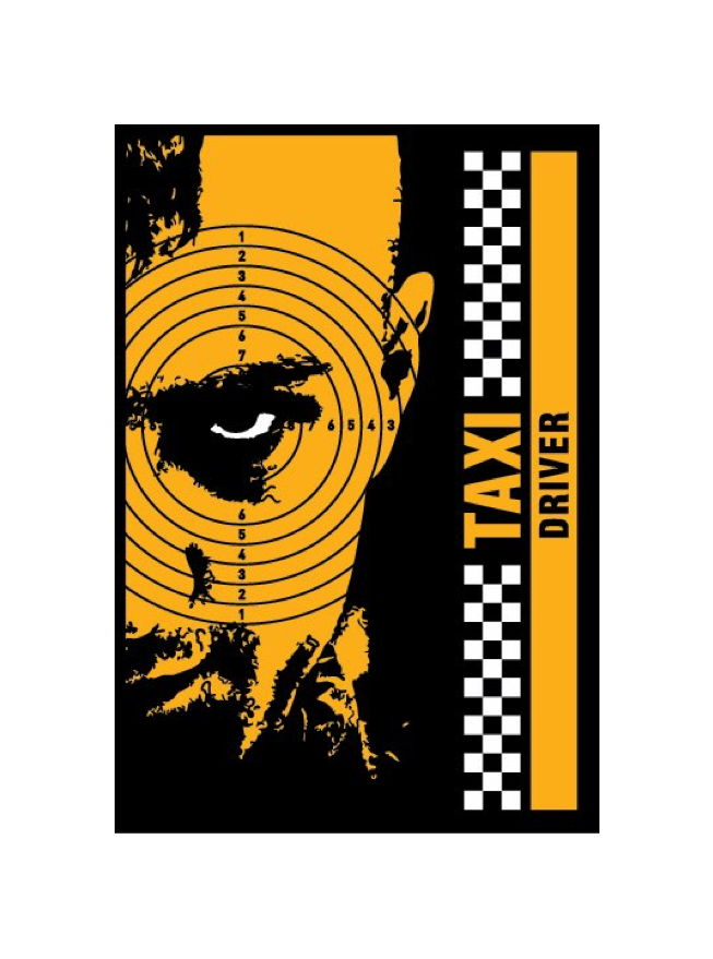 "Image of Taxi Driver by Chris ""QuiltFace"" Garofalo"