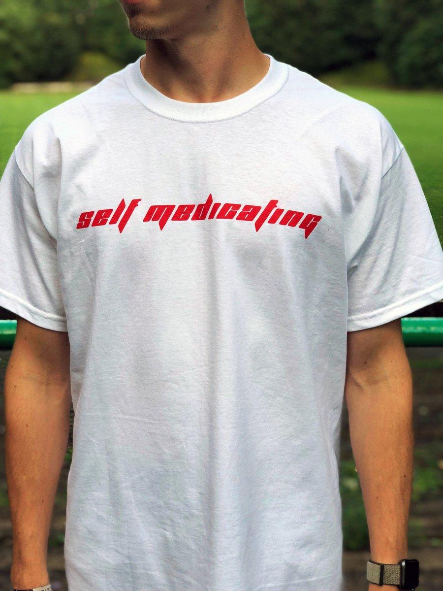 Image of Self Medicating - White/Red