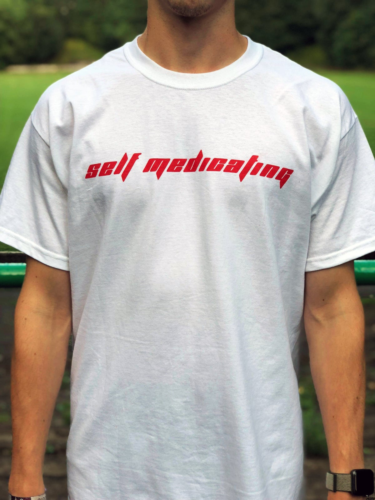Image of Self Medicating - White/Red