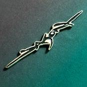 Image of Jason Signature enamel pin