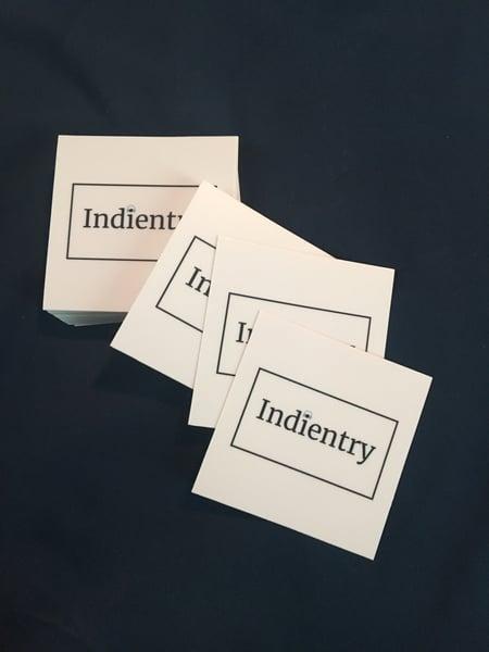 Image of Indientry Logo Sticker