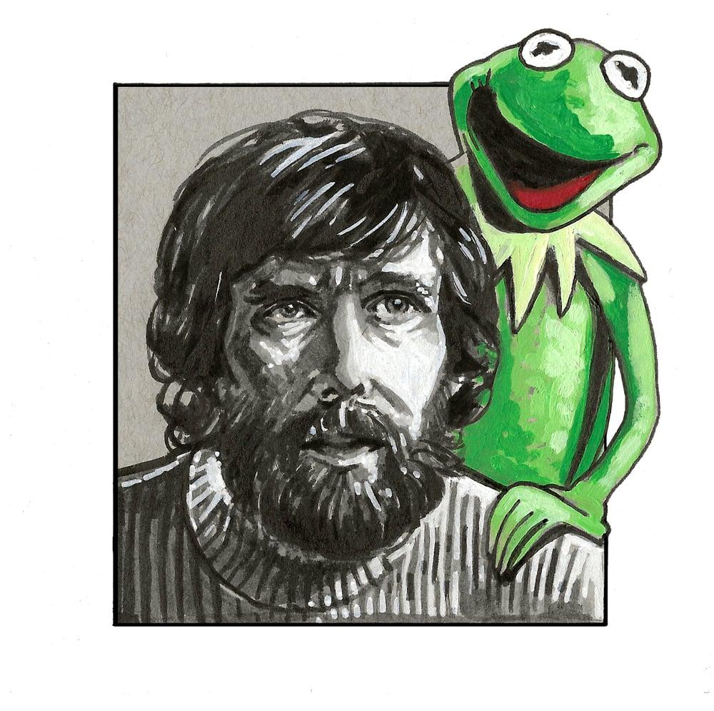 Image of Jim Henson & Kermit