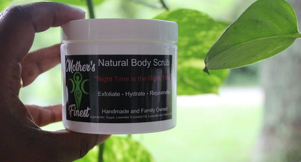 Image of Night Time is the Right Time Natural Body Scrub