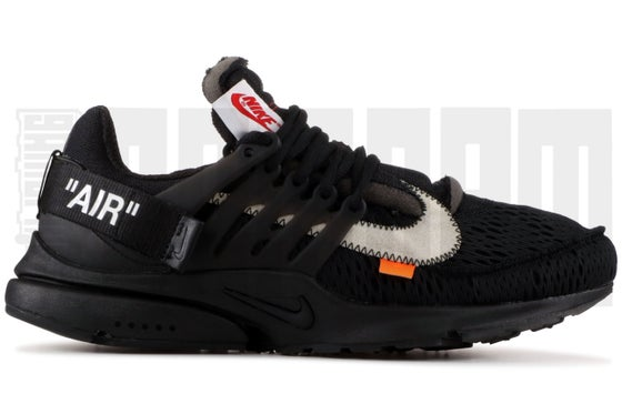 "Image of Nike AIR PRESTO ""OFF WHITE"" BLACK"