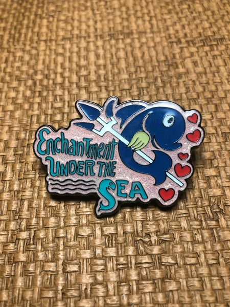 "Image of 2"" BTTF Enchantment Under The Sea Pin"
