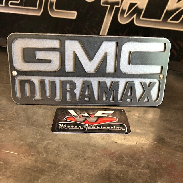 Image of GMC DURAMAX - Two Layer Hitch Cover LB7 LLY LBZ LMM LML L5P