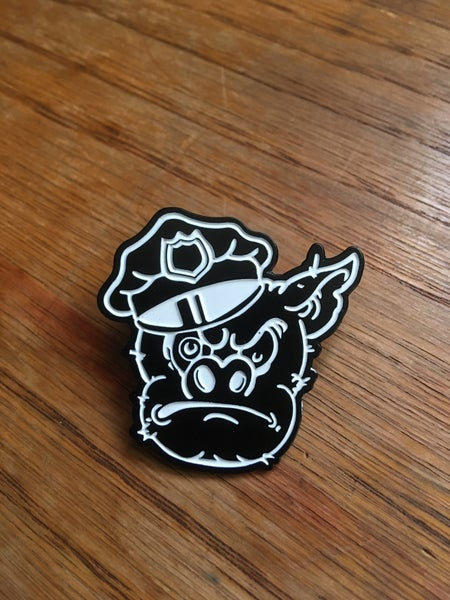 Image of Pig Head Hatpin