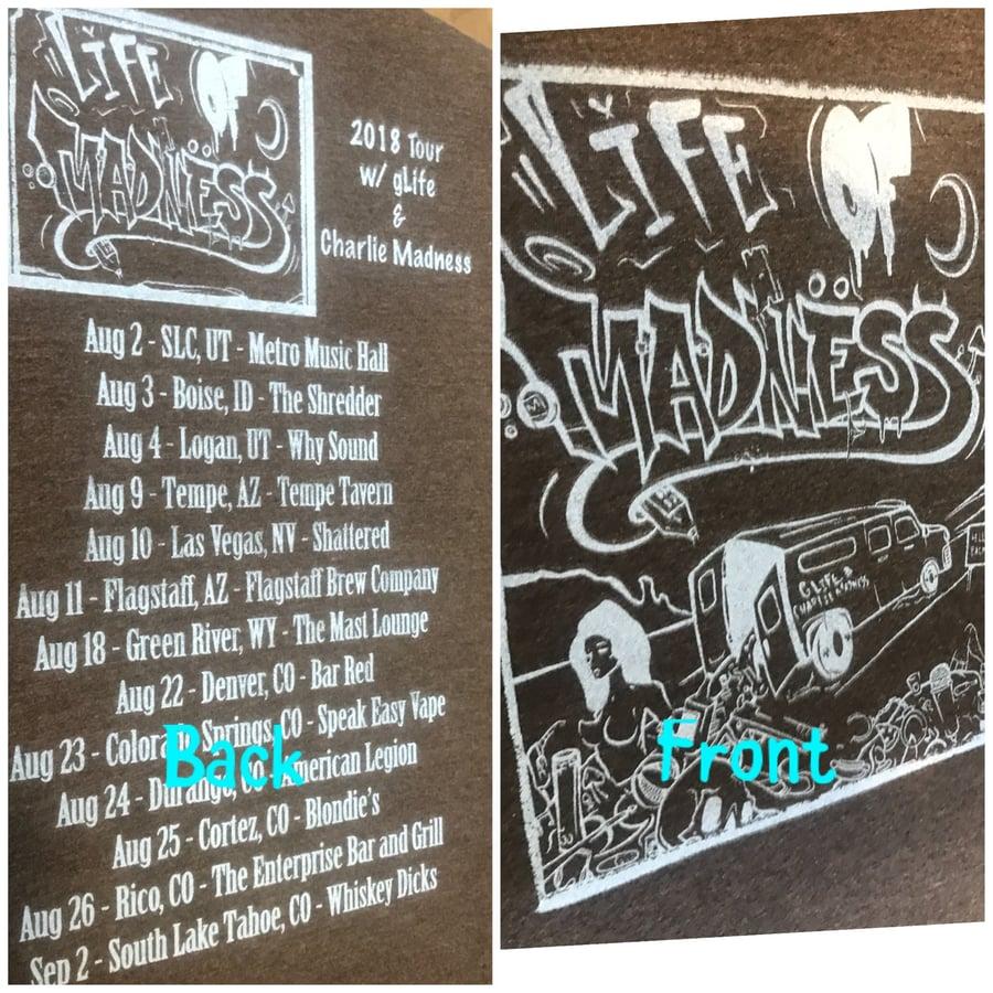 Image of 2018 TOUR shirt LOMT