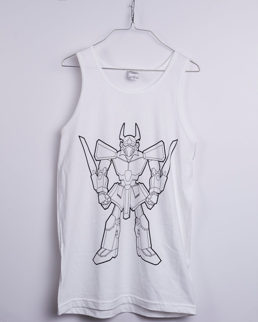 Image of Samurai Mecha Anime Tank Top