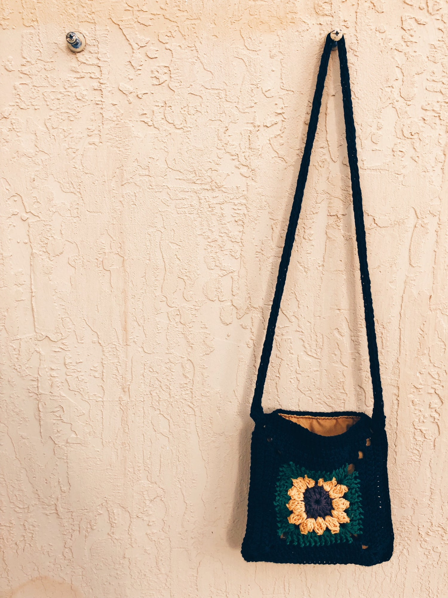 Image of Sunflower Crystal Cross-Body