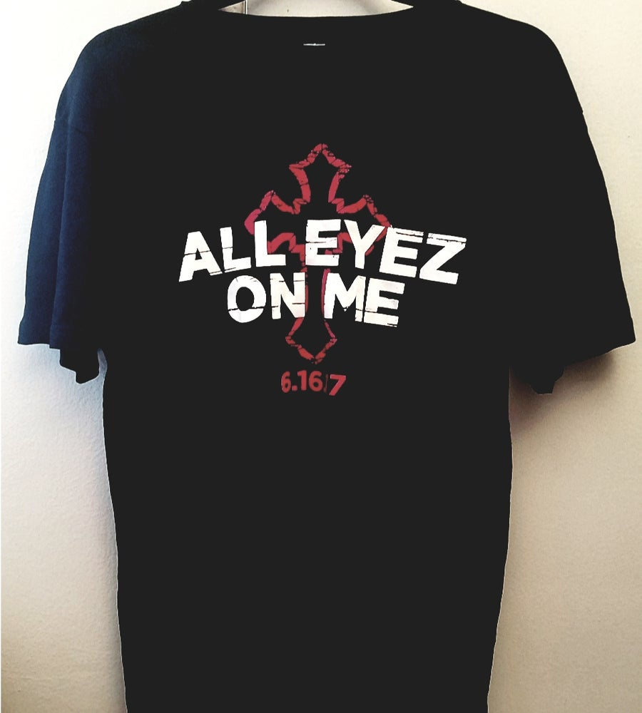 Image of Tupac Official All Eyez On Me Promo Shirt - Medium