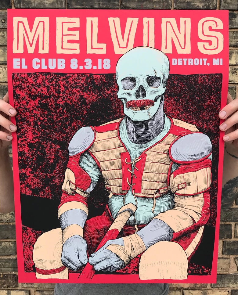 Image of Melvins - Detroit 8.3.18