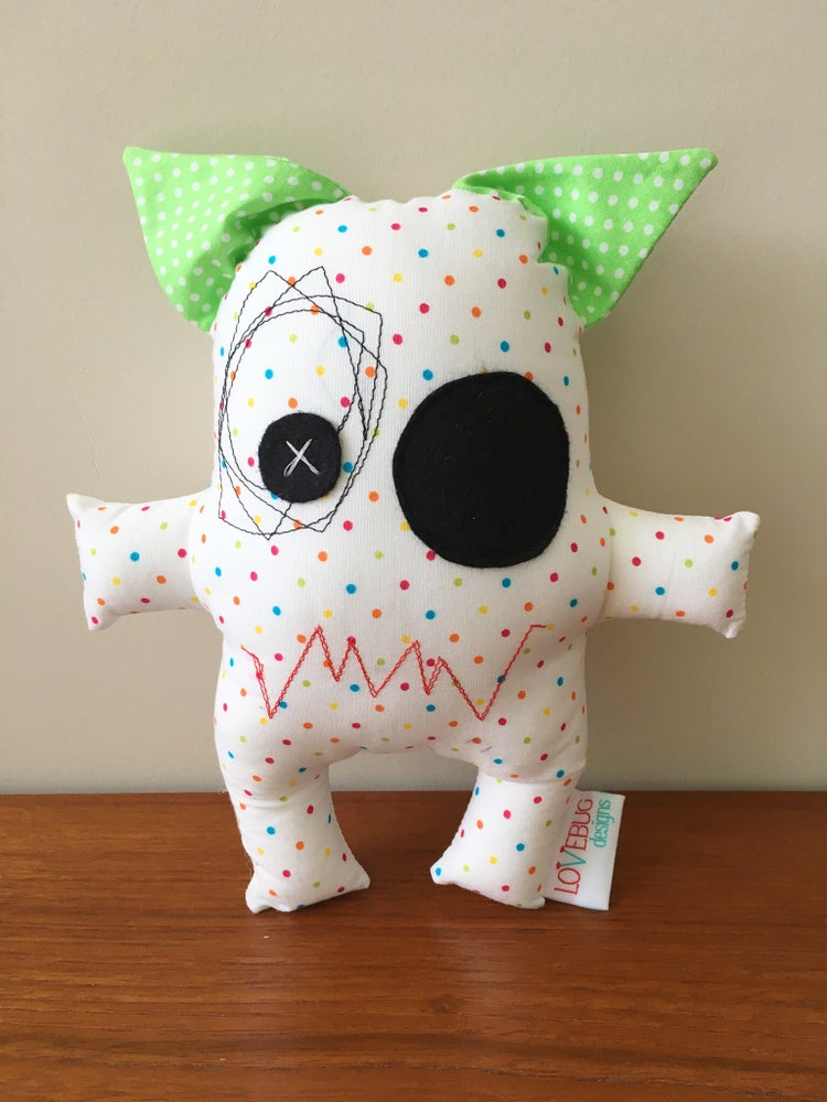 Image of Riley the Mini Monster