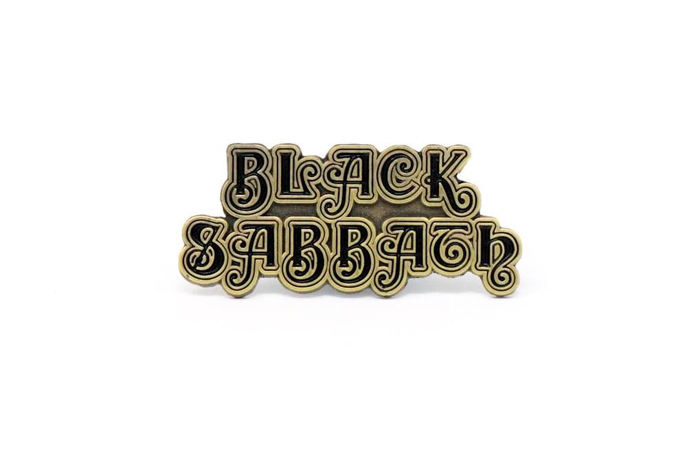 Black Sabbath 1st Logo Enamel Pin