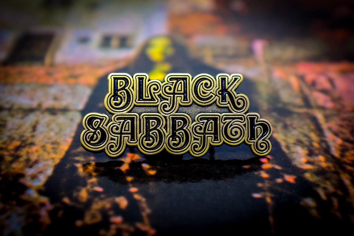 Image of Black Sabbath 1st Logo
