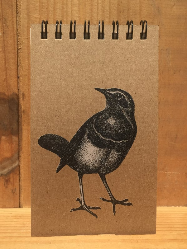 Image of Bluethroat Notepad