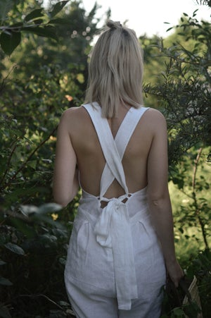 Image of AMÁL Cross-Back Playsuit Overall