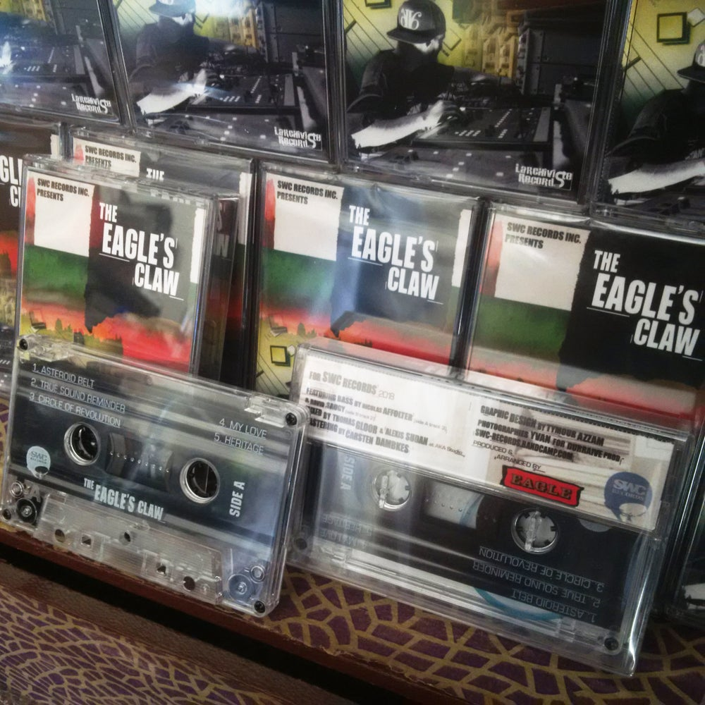 Image of The Eagle's Claw - Instrumental Tape SWC-RECORDS (K7)