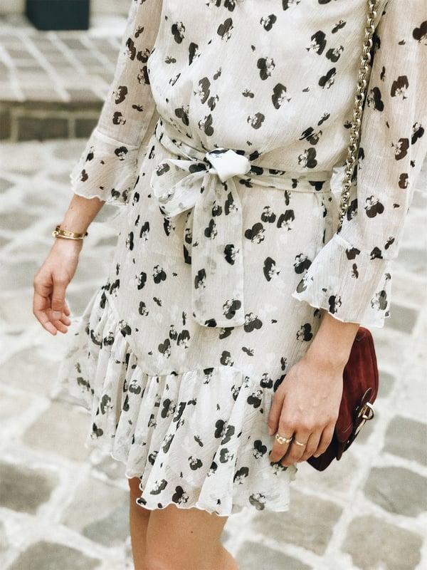 Robe Maude écrue imprimé à fleurs 185€ -30% - Maison Brunet Paris