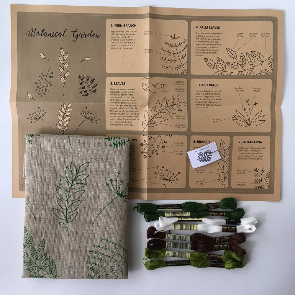 Image of Botanical Embroidery with Kasia Jacquot August 18th 1-4pm