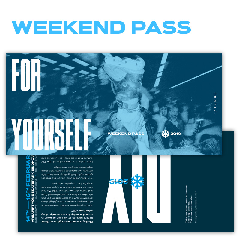 Image of Winterclash 2019 Weekend Pass