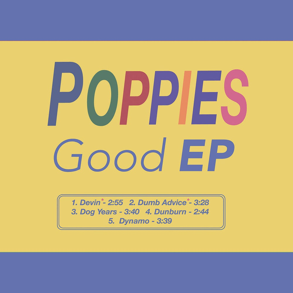 "Image of Poppies 'Good EP' 12"" Vinyl"