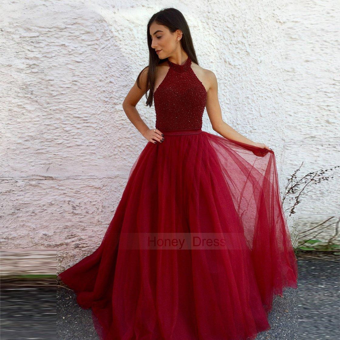 Long Banquet Dresses