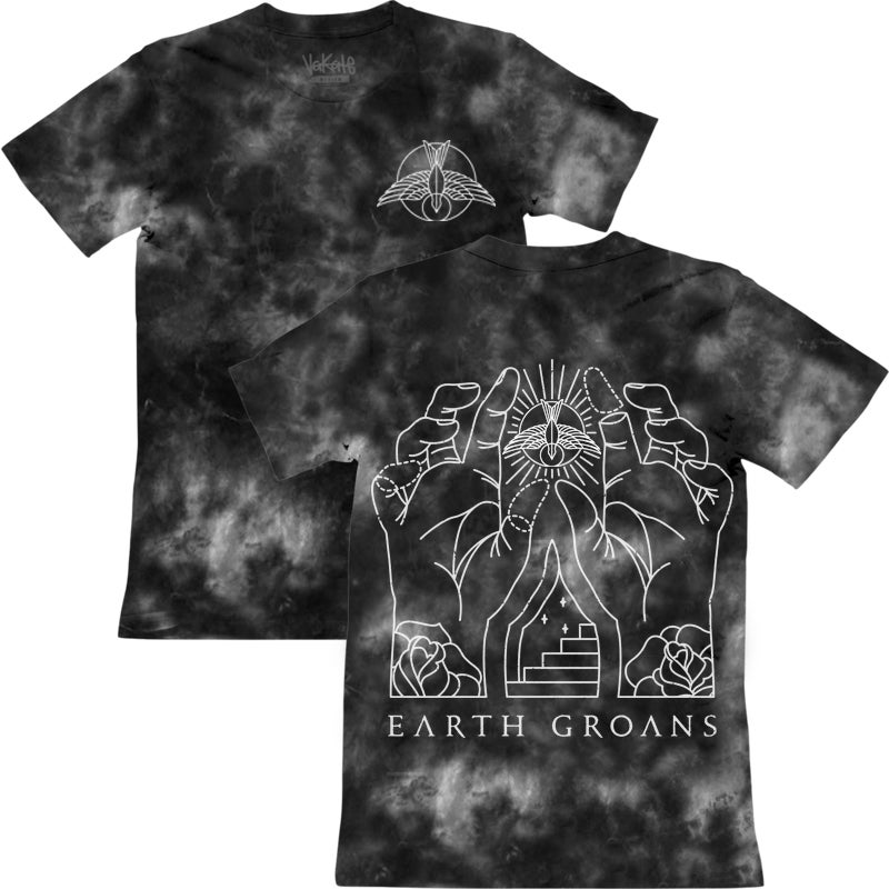 Image of Black and Gray Tie Dye