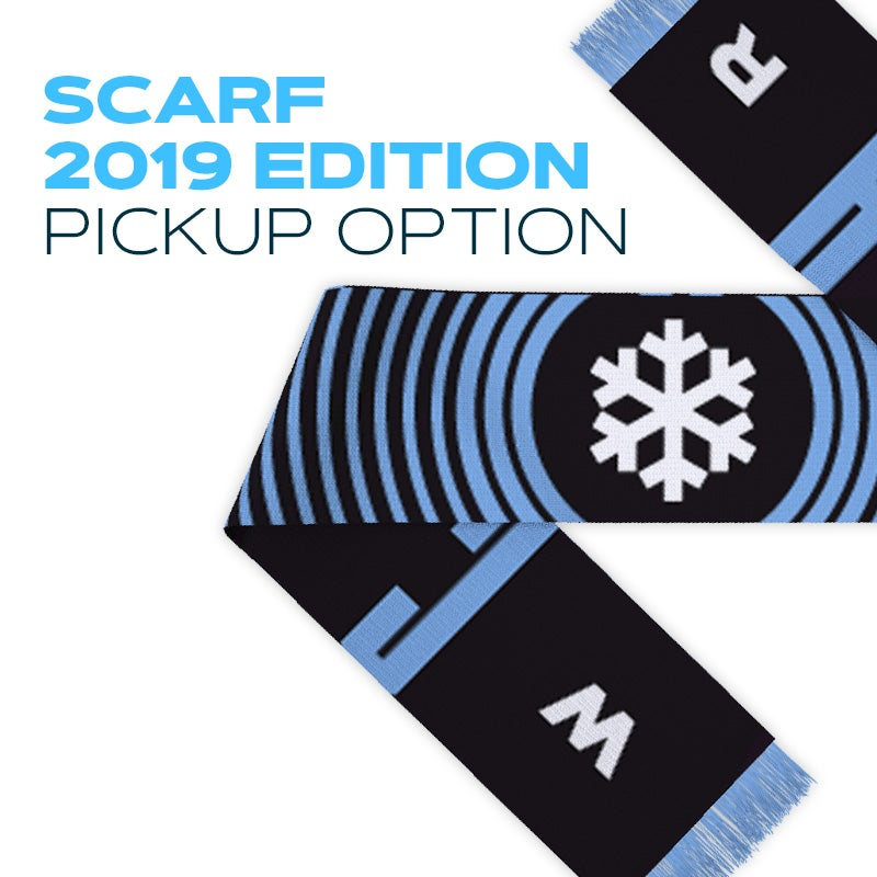 Image of Winterclash Scarf 2019 Edition - Pickup Option