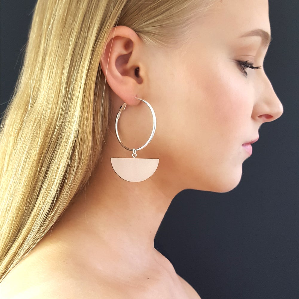 Image of ECLIPSE hoop earrings