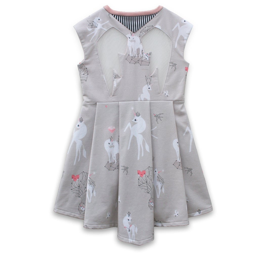 Image of unicorn love dress