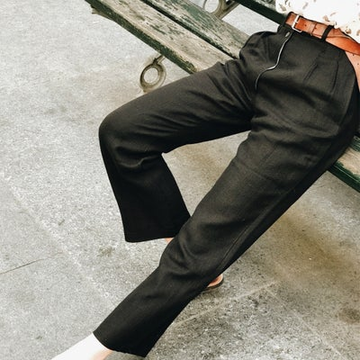 Pantalon Larry Noir - Maison Brunet Paris