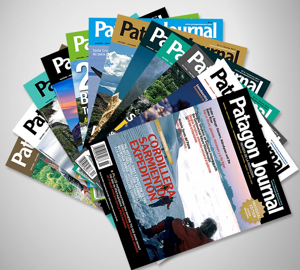 Image of Get the Patagon Journal collection!/ Consiga la colección de Patagon Journal!