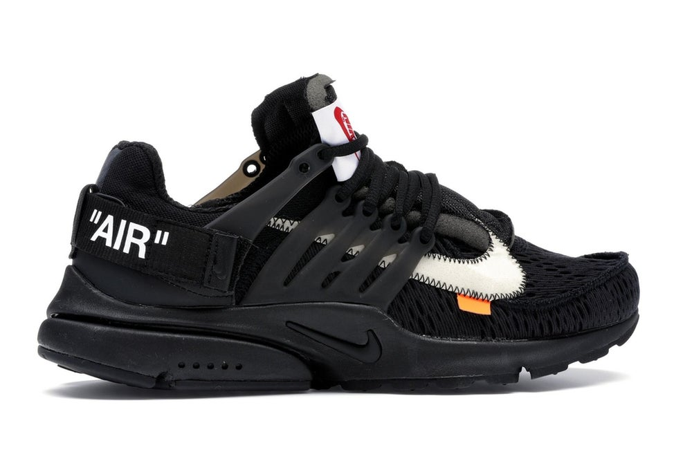 Image of Nike Presto Off White 2.0 black