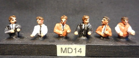 Image of MD14 Diesel and DMU drivers (top half figures)