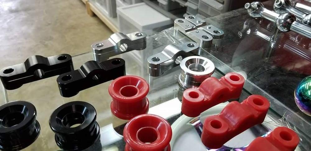 Image of B Series Billet CNC Shifter Bushings